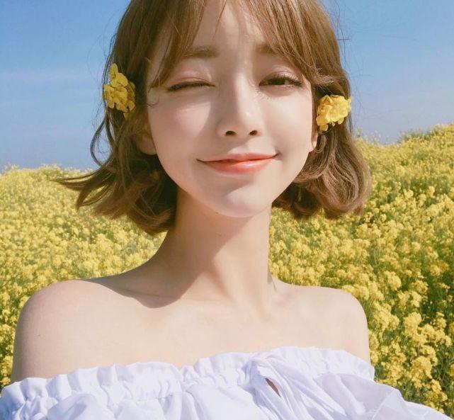 Xao xuyến nét dễ thương của cô nàng xứ Hàn 'bản sao' Angelababy ảnh 12