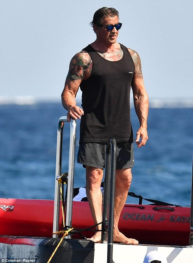 Vợ và con gái 'người hùng cơ bắp' Sylvester Stallone siêu quyến rũ ảnh 6