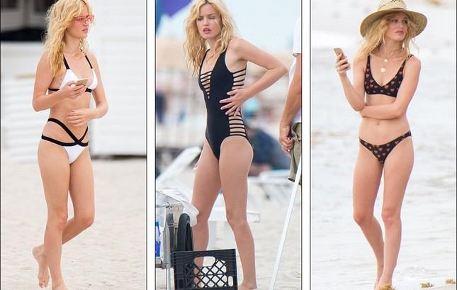 Con gái huyền thoại Rolling Stones hóa thiên thần bikini quyến rũ ảnh 1
