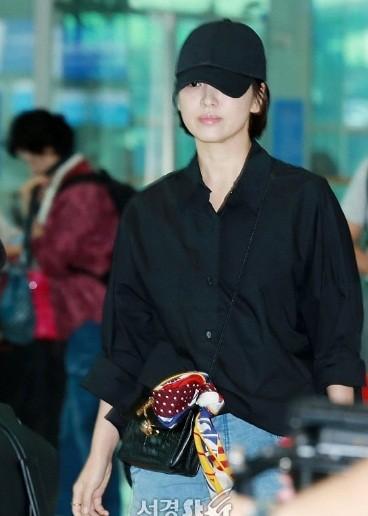 Song Hye Kyo U40 vẫn trẻ trung năng động, giản dị không ngờ ảnh 2