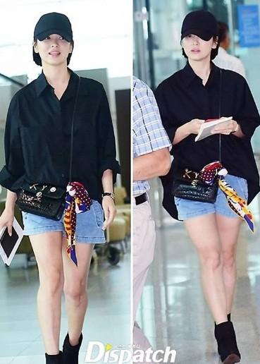 Song Hye Kyo U40 vẫn trẻ trung năng động, giản dị không ngờ ảnh 4