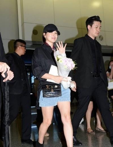 Song Hye Kyo U40 vẫn trẻ trung năng động, giản dị không ngờ ảnh 7