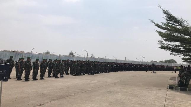 Olympic Việt Nam - UAE: An ninh vào sân vận động được thắt chặt ảnh 7