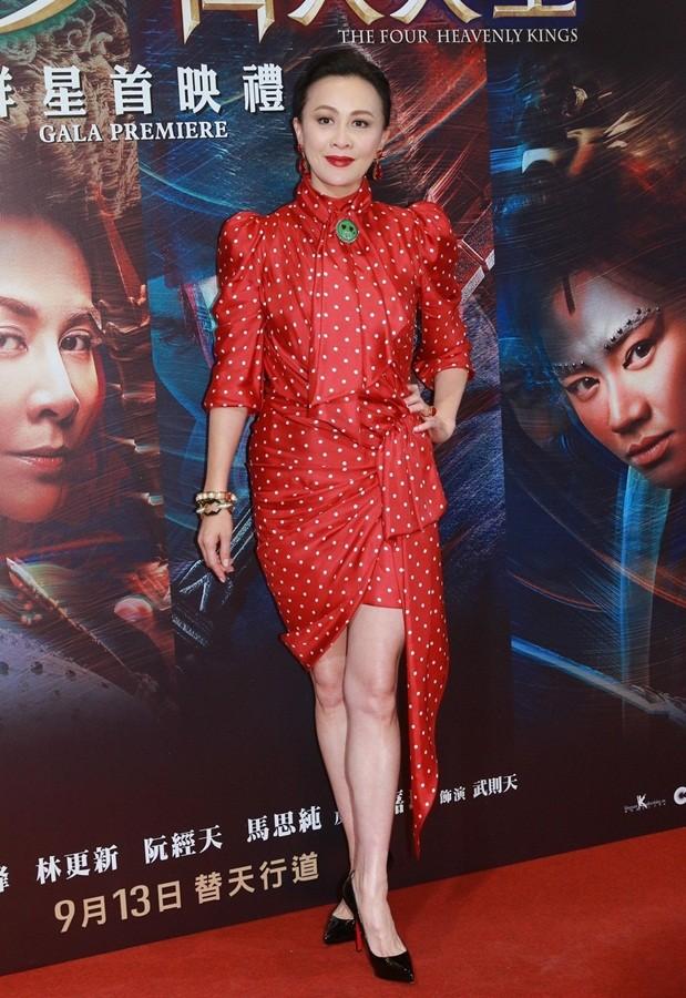 'Nữ hoàng màn ảnh' Hồng Kông Lưu Gia Linh U60 trẻ đẹp rực rỡ ảnh 5