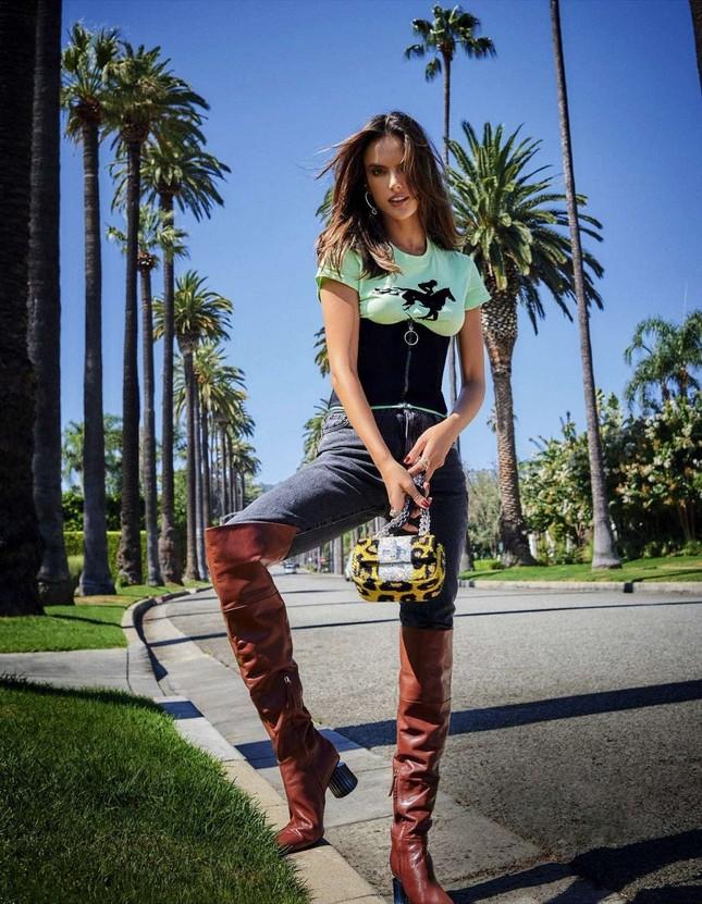 Alessandra Ambrosio eo thon chân dài dáng tuyệt đẹp ảnh 3