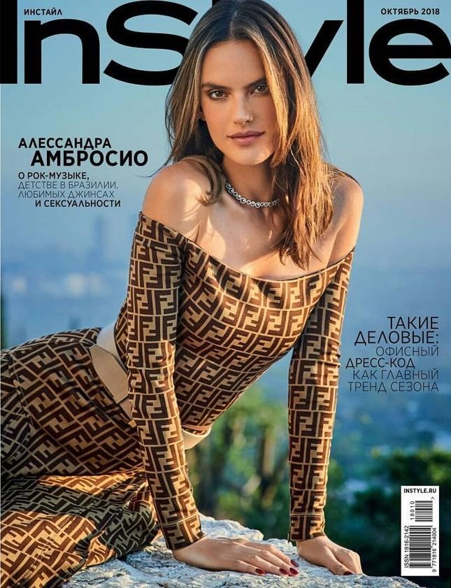 Alessandra Ambrosio eo thon chân dài dáng tuyệt đẹp ảnh 1