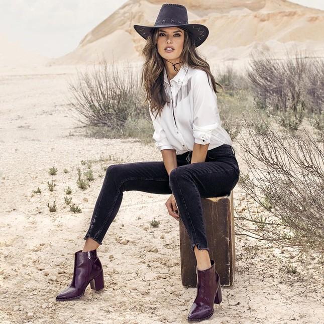 Alessandra Ambrosio eo thon chân dài dáng tuyệt đẹp ảnh 11