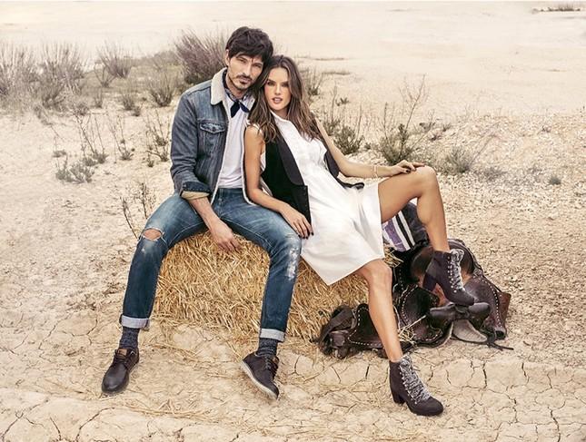 Alessandra Ambrosio eo thon chân dài dáng tuyệt đẹp ảnh 12