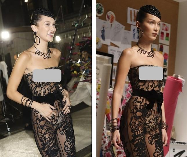 Gigi Hadid hoá cô dâu, Bella lộ ngực, Kendall thả dáng hoàn hảo ảnh 5