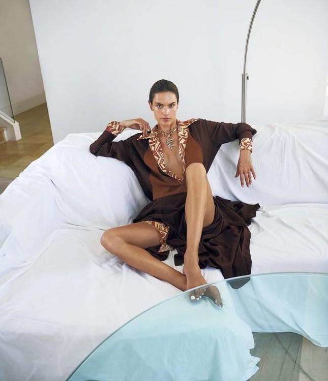 Dáng thon hoàn hảo của mỹ nhân xứ Samba Alessandra Ambrosio ảnh 9