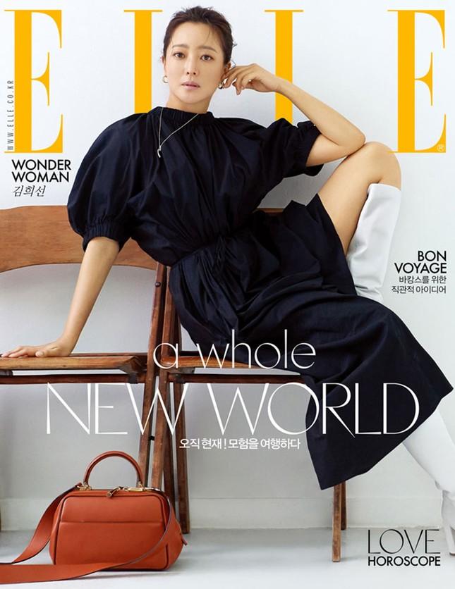 'Đệ nhất mỹ nhân xứ Hàn' Kim Hee Sun trẻ đẹp khó đoán tuổi ảnh 2
