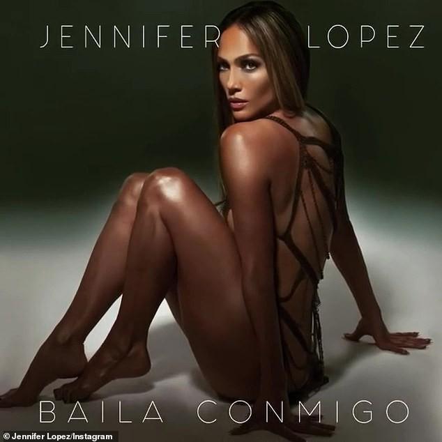 Jennifer Lopez 50 tuổi táo bạo khỏa thân trên bìa single mới ảnh 2