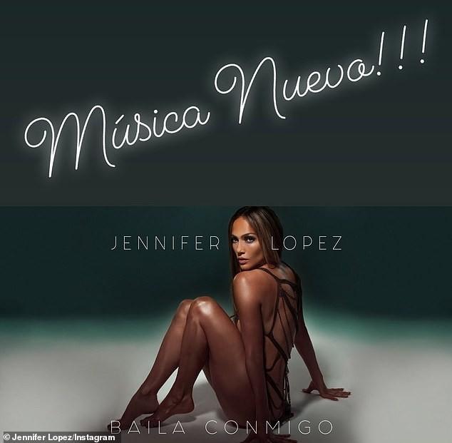 Jennifer Lopez 50 tuổi táo bạo khỏa thân trên bìa single mới ảnh 1