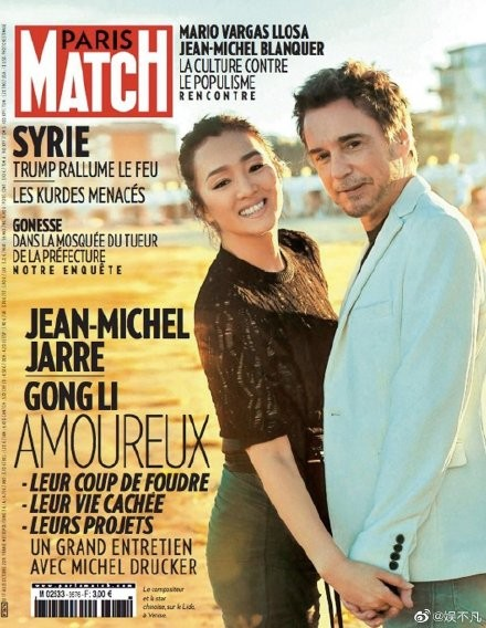 Củng Lợi và chồng 71 tuổi tình tứ mặn nồng trên báo Pháp ảnh 1
