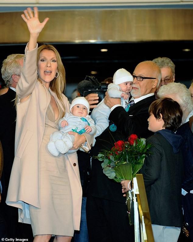 Lần hiếm hoi Celine Dion khoe ảnh con trai song sinh ảnh 4