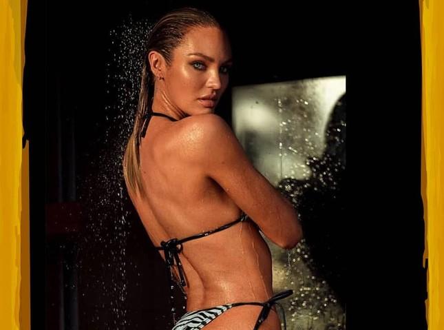 Candice Swanepoel diện bikini nóng bỏng đầy hoang dại ảnh 4