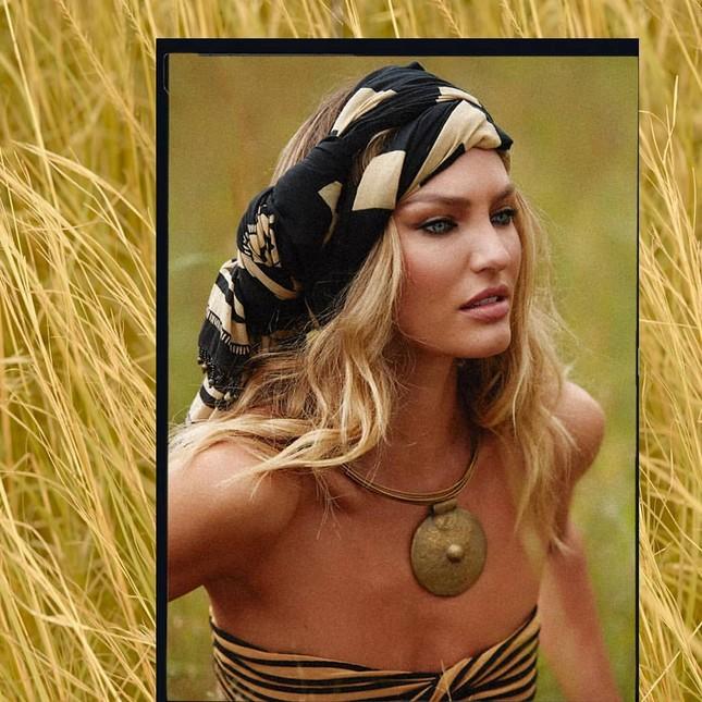 Candice Swanepoel nửa kín nửa hở khoe thân hình tuyệt mỹ ảnh 5