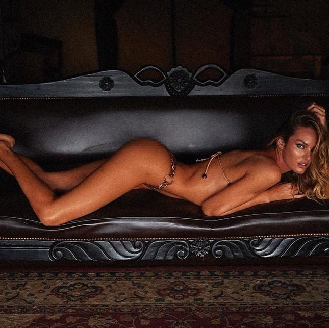 Dáng vóc như tượng tạc của nữ thần áo tắm Candice Swanepoel ảnh 2