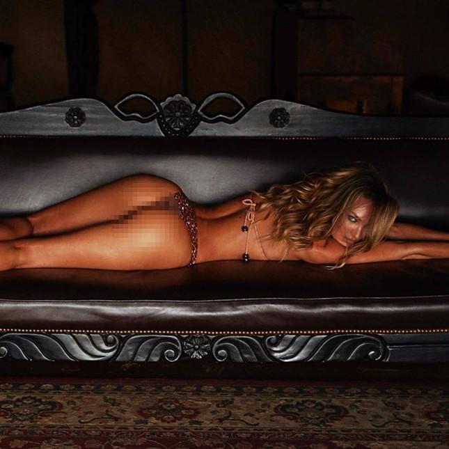 Dáng vóc như tượng tạc của nữ thần áo tắm Candice Swanepoel ảnh 1