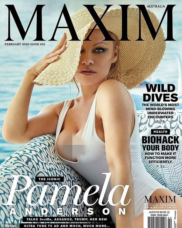 'Quả bom gợi cảm' Pamela Anderson bí mật cưới người tình 74 tuổi ảnh 1