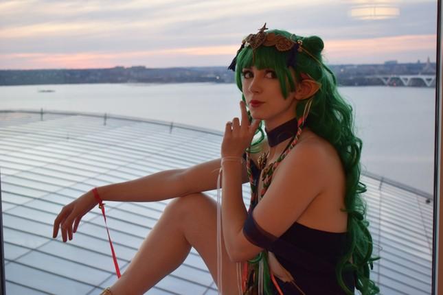 Các bóng hồng mặt xinh dáng đẹp trong lễ hội cosplay đình đám thế giới ảnh 14