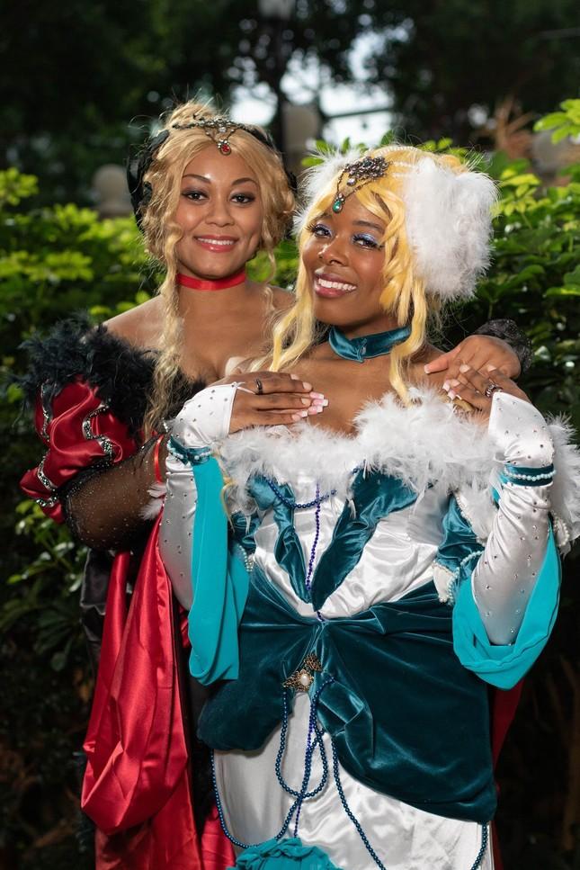Các bóng hồng mặt xinh dáng đẹp trong lễ hội cosplay đình đám thế giới ảnh 19