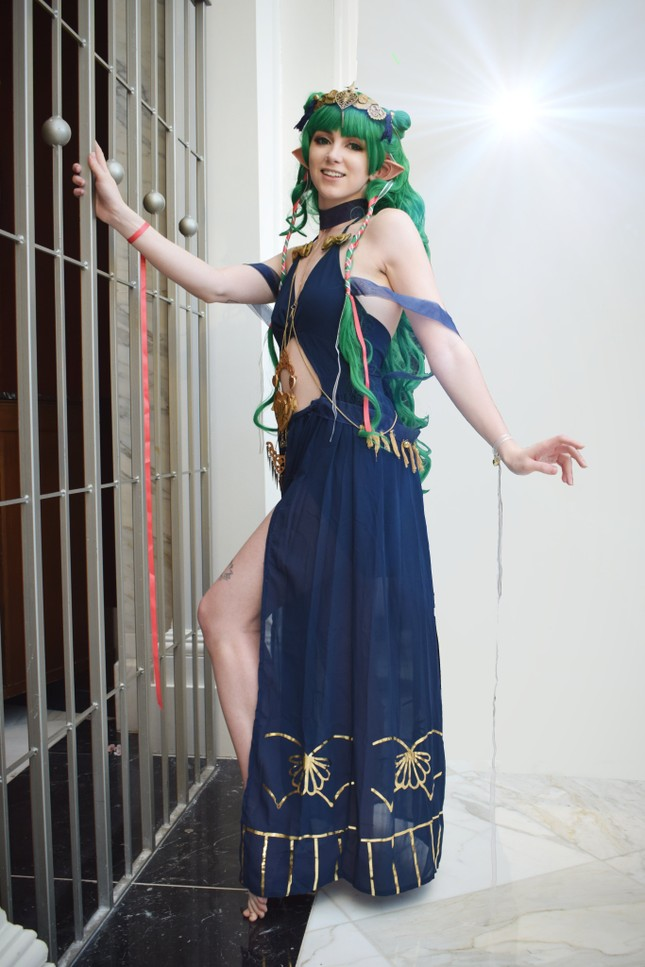 Các bóng hồng mặt xinh dáng đẹp trong lễ hội cosplay đình đám thế giới ảnh 26