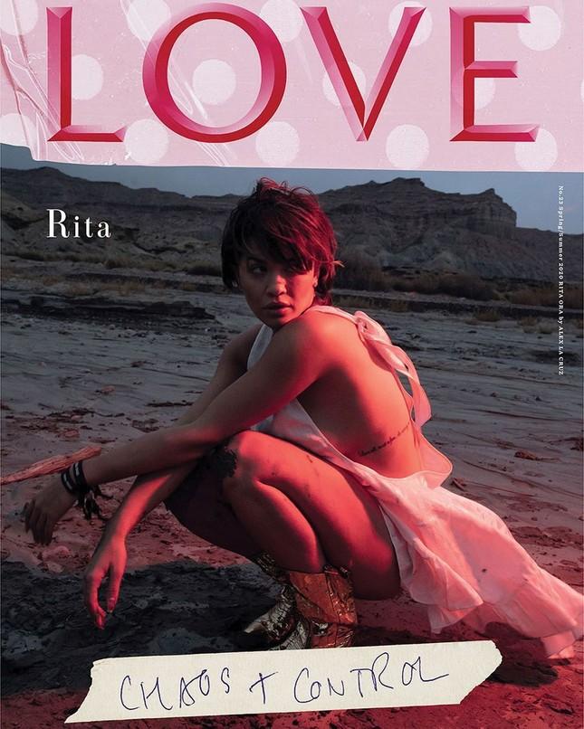 Rita Ora mặc táo bạo tôn đường cong rực lửa ảnh 9