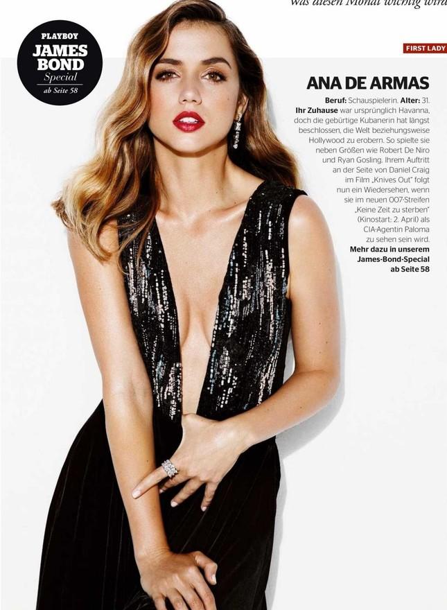 Mê đắm sắc vóc gợi cảm của nàng Bond girl Ana de Armas ảnh 1