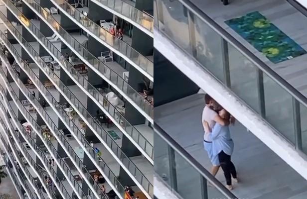 Ở nhà tránh dịch, Cindy Prado nhảy múa tưng bừng trên ban công chung cư ảnh 6