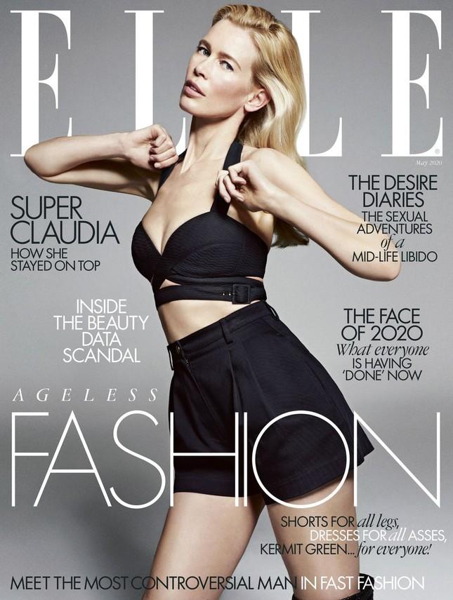 Claudia Schiffer 49 tuổi vẫn 'nóng rực' như quả bom gợi cảm ảnh 1