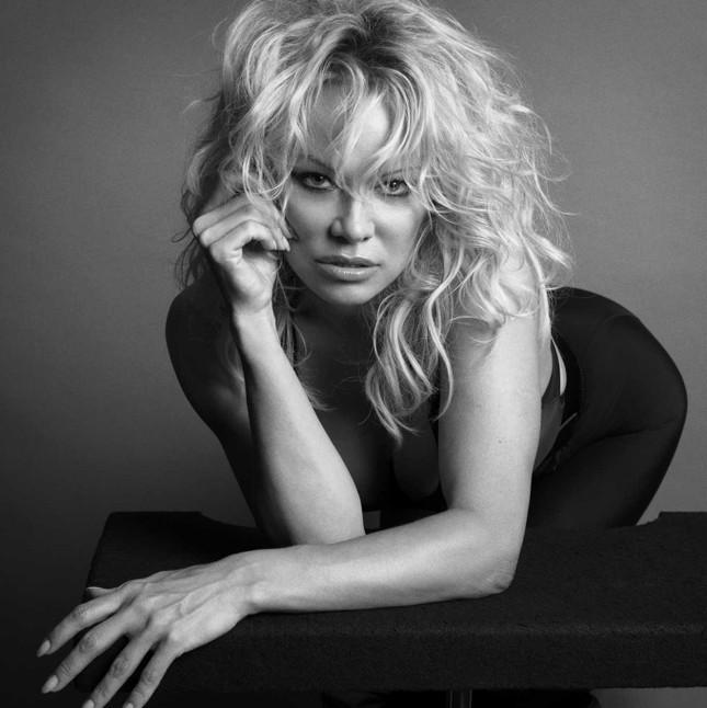 Sắc vóc rực lửa của biểu tượng gợi cảm một thời Pamela Anderson ảnh 5