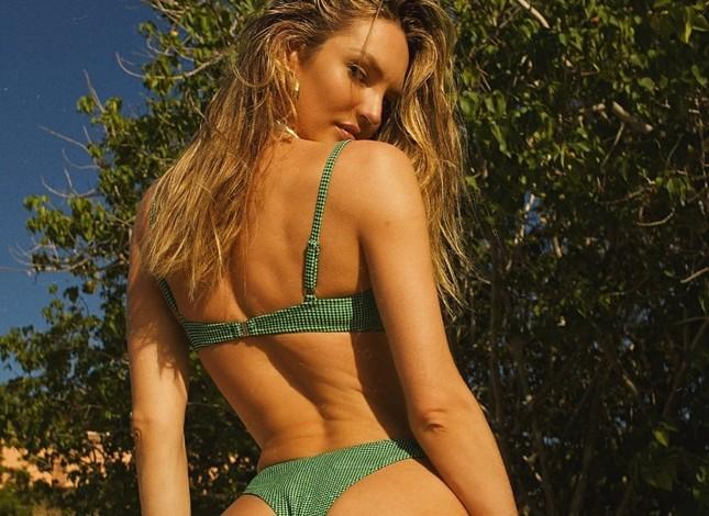 Candice Swanepoel diện bikini trễ nải tôn dáng ngọc ngà ảnh 6