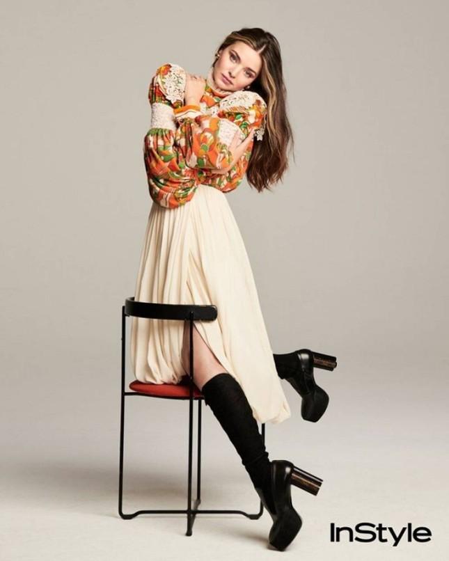 Siêu mẫu Miranda Kerr trẻ đẹp 'thách thức' thời gian ảnh 5