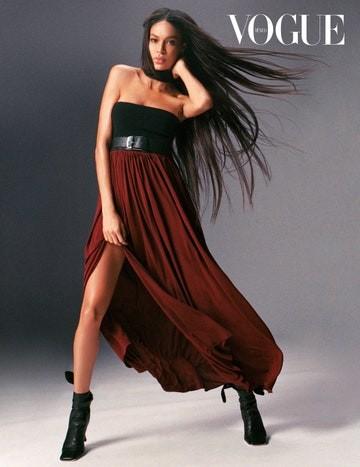 'Chân dài' cao 1m79 Joan Smalls khoe dáng với áo tắm đỏ rực ảnh 12