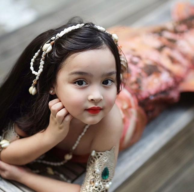Mê mẩn con gái mỹ nhân đẹp nhất Philippines xinh như thiên thần ảnh 1