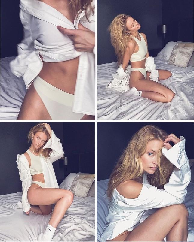 Người mẫu 1m80 Kate Bock quyến rũ với đôi chân dài miên man ảnh 2