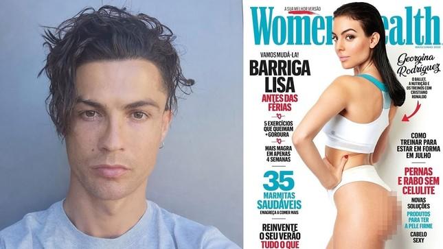 Mê mẩn dáng tròn đầy 'bỏng rẫy' của bạn gái Ronaldo ảnh 2