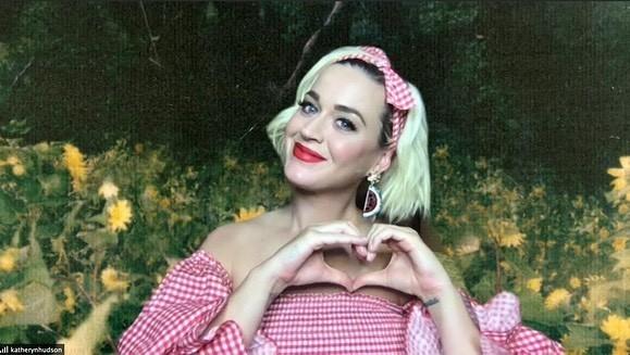 Katy Perry bụng bầu 'lùm lùm', mặc áo tắm đi nghỉ với hôn phu Orlando Bloom ảnh 12
