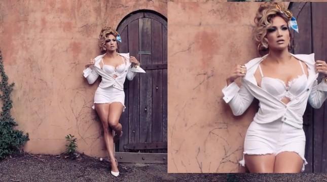 Ba vòng nóng bỏng, Jennifer Lopez rạng ngời xuân sắc ở tuổi 50 ảnh 14