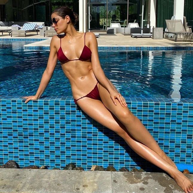 Hoa hậu Colombia Ariadna Gutierrez 'quậy tưng' TikTok với loạt clip cực chất ảnh 1