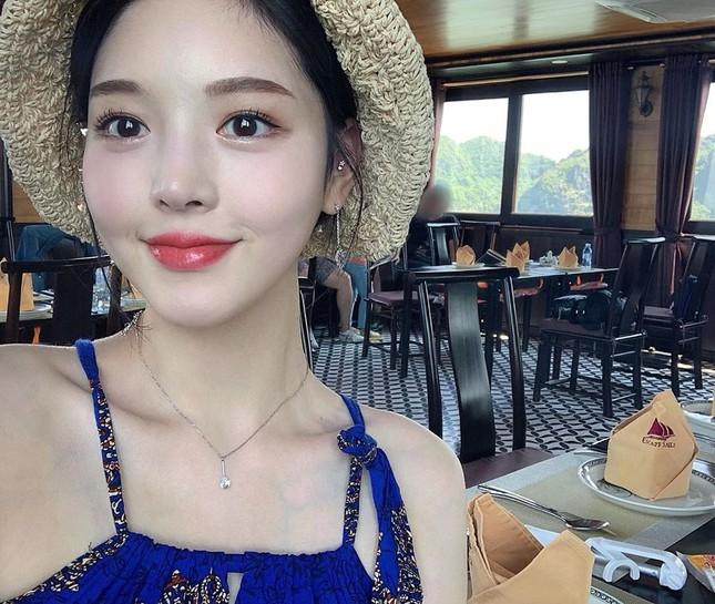 Được gọi là 'thực thần', cô gái ham ăn xứ Hàn vẫn rất xinh đẹp và thon thả ảnh 5