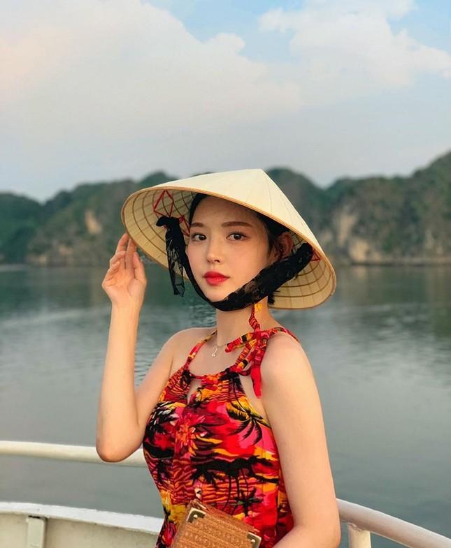 Được gọi là 'thực thần', cô gái ham ăn xứ Hàn vẫn rất xinh đẹp và thon thả ảnh 4