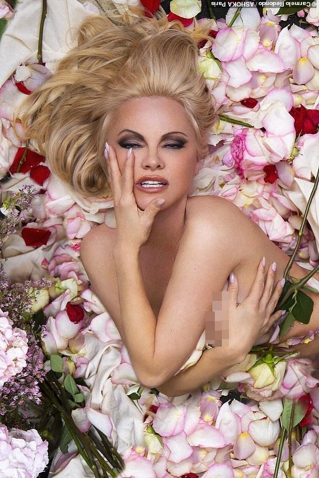 'Quả bom gợi cảm' Pamela Anderson chụp ảnh nude ở tuổi 52 ảnh 2