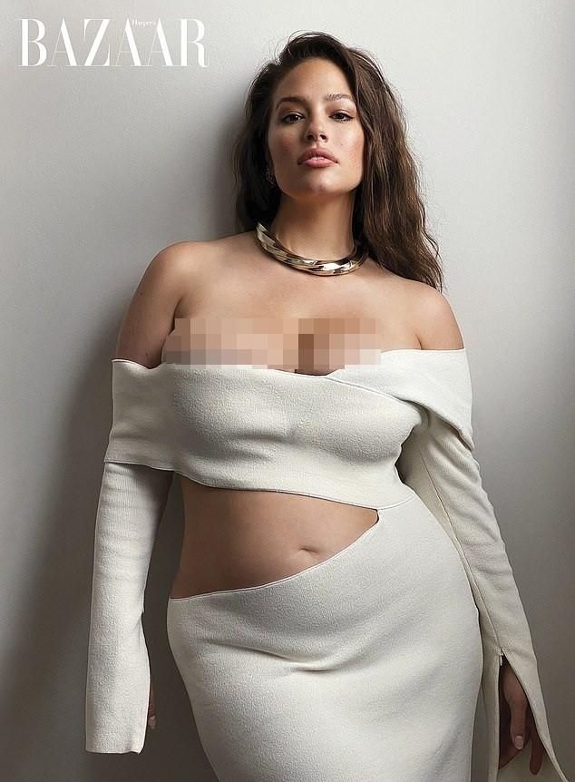 Người mẫu béo Ashley Graham nóng bỏng sau sinh ảnh 2