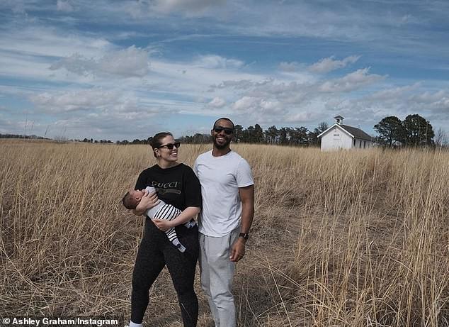 Người mẫu béo Ashley Graham nóng bỏng sau sinh ảnh 4