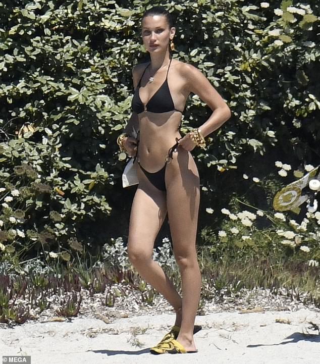 Bella Hadid thả dáng đẹp như tạc tượng ở Ý ảnh 1