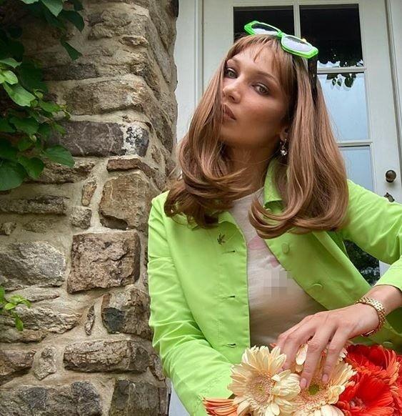 Bella Hadid thả dáng đẹp như tạc tượng ở Ý ảnh 9