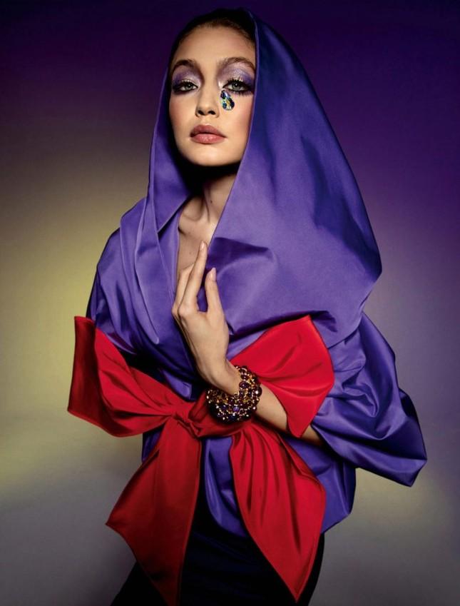 Bella Hadid thả dáng đẹp như tạc tượng ở Ý ảnh 13