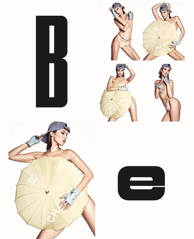 Bella Hadid bán nude 'rực lửa' ảnh 5